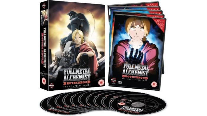 Fullmetal Alchemist Brotherhood Complete Series Collection