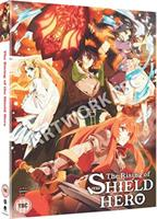 The Rising of the Shield Hero - Season One Part One (DVD) UK