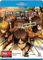 Attack on Titan Season 1 Collection (Blu-ray) AU