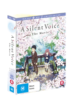 A Silent Voice Limited Edition DVD / Blu-Ray Combo (Blu-ray) AU