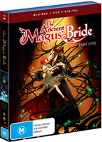 The Ancient Magus Bride - Part 1 DVD / Blu-Ray Combo (Blu-ray) AU