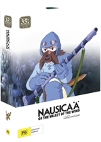 Nausicaa of the Valley of the Wind 35th Anniversary Ltd Edition (Blu-Ray & DVD Combo with Artbook) (Blu-ray) AU