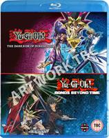 Yu-Gi-Oh! Movie Double Pack: Bonds Beyond Time/Dark Side of Dimensions (Blu-ray) UK