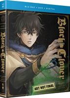 Black Clover Season 1 Part 2 DVD / Blu-Ray Combo (Blu-ray) AU