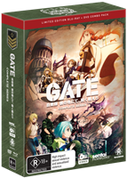 Gate Complete Series Limited Edition DVD / Blu-Ray Combo (Blu-ray) AU