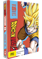 Dragon Ball Z: Season 6 - Limited Edition Steelbook (Blu-ray) AU