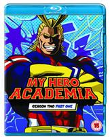 My Hero Academia Season 2 Part 1 (Blu-ray) UK