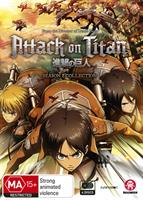 Attack on Titan Complete Season 1 (Eps 1-25) (DVD) AU
