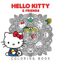 Hello Kitty & Friends Coloring Book (Manga) US