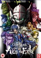Code Geass Akito the Exiled Part 1 and 2 (DVD) UK