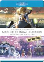 Makoto Shinkai Classics: Voices of a Distant Star / 5 Centimetres per Second (Blu-ray) AU