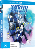 Yuri!!! On Ice Complete Series DVD / Blu-Ray Combo (Blu-ray) AU
