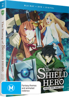 The Rising of the Shield Hero Season 1 Part 1 DVD / Blu-Ray Combo (Blu-ray) AU
