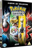 Pokemon Movie 10-13 Collection (DVD) UK