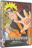 Naruto Shippuden Box Set 34 (DVD) UK
