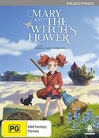 Mary and the Witch's Flower (DVD) AU