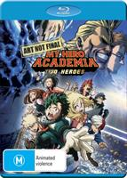 My Hero Academia - The Movie: Two Heroes DVD / Blu-Ray Combo (Blu-ray) AU