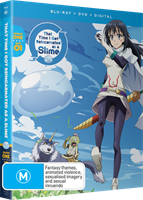 That Time I Got Reincarnated as a Slime Season One Part One DVD / Blu-Ray Combo (Blu-ray) AU
