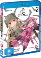 Sword Art Online Alternative: Gun Gale Online Part 2 (Eps 7-12) (Blu-ray) AU