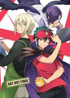 The Devil is a Part-Timer! Complete Series (Blu-ray) AU