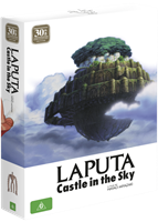 Laputa: Castle in the Sky 30th Anniversary Ltd Ed (Blu-Ray & DVD Combo with Artbook) (Blu-ray) AU