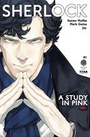 Sherlock: A Study in Pink (Manga) UK