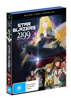 Star Blazers: Space Battleship Yamato 2199 Part 2 (Eps 14-26) DVD / Blu-Ray Combo (Blu-ray) AU
