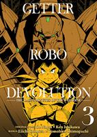 Getter Robo Devolution Volume 3 (Manga) US