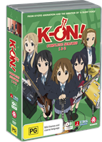 K-On! Ultimate Collection (Season 1, 2 & Movie) (DVD) AU