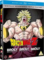Dragon Ball Z Movie Collection Five: The Broly Trilogy (Blu-ray) UK