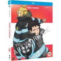 Fire Force - Season One Part One (Blu-ray) UK