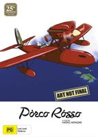 Porco Rosso 25th Anniversary Ltd Ed (Blu-Ray & DVD Combo with Artbook) (Blu-ray) AU
